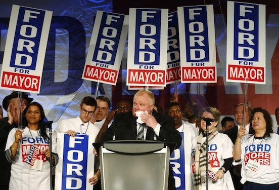 Everyone makes mistakes. Rob Ford has made a lot of them. Photo via