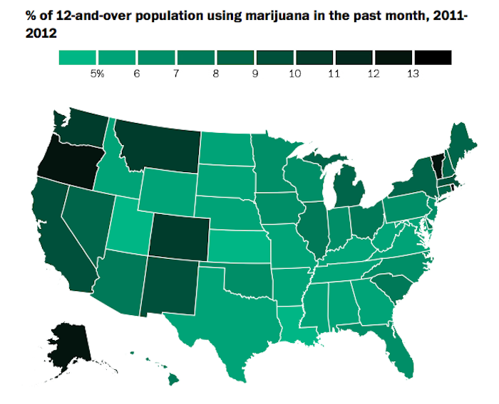 marijuana in the united states On nov 8, 2016, voters in nine states decided whether or not to legalize marijuana five of those states — arizona, california, maine, massachusetts, and nevada — saw ballot initiatives to legalize weed for recreational purposes.