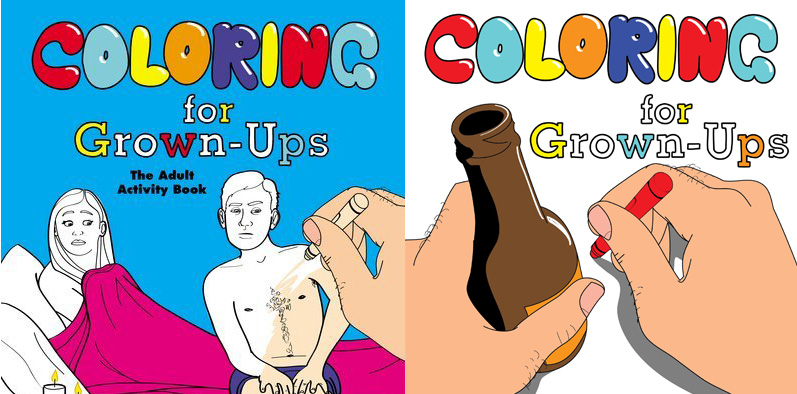 This Coloring Book Is Definitely For Grown Ups