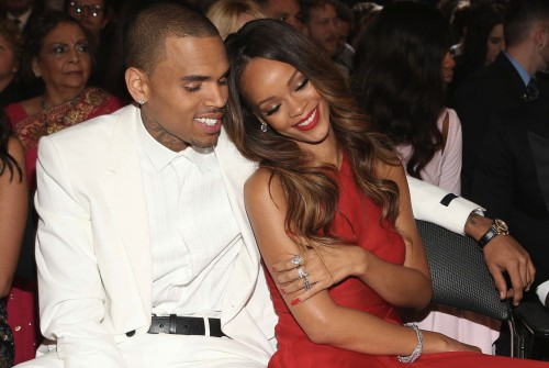 http://www.businessinsider.com/chris-brown-and-rihanna-are-sitting-next-to-each-other-at-the-grammys-2013-2