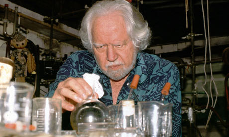 Shulgin hard at work Photo via