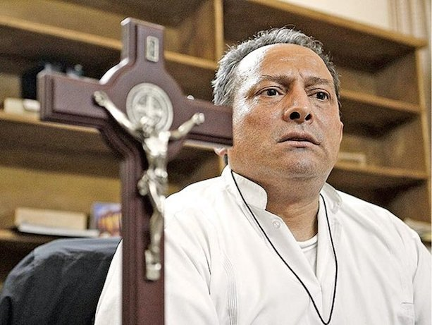 Padre Goyo has survived two assassination attempts. Photo via