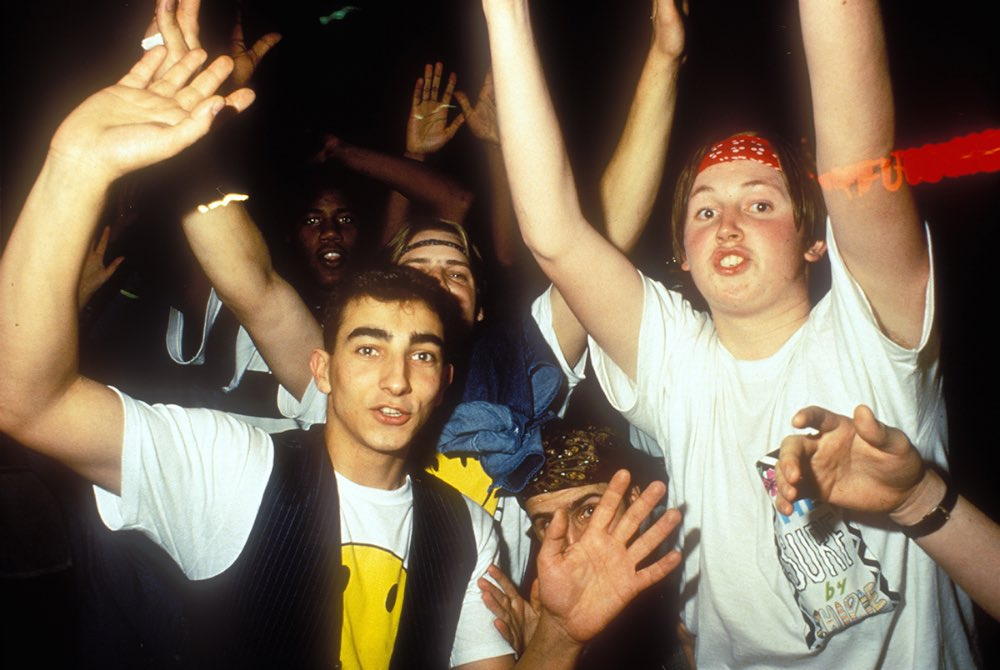 Shot of the Day: The Rave Scene of the Late 1980s