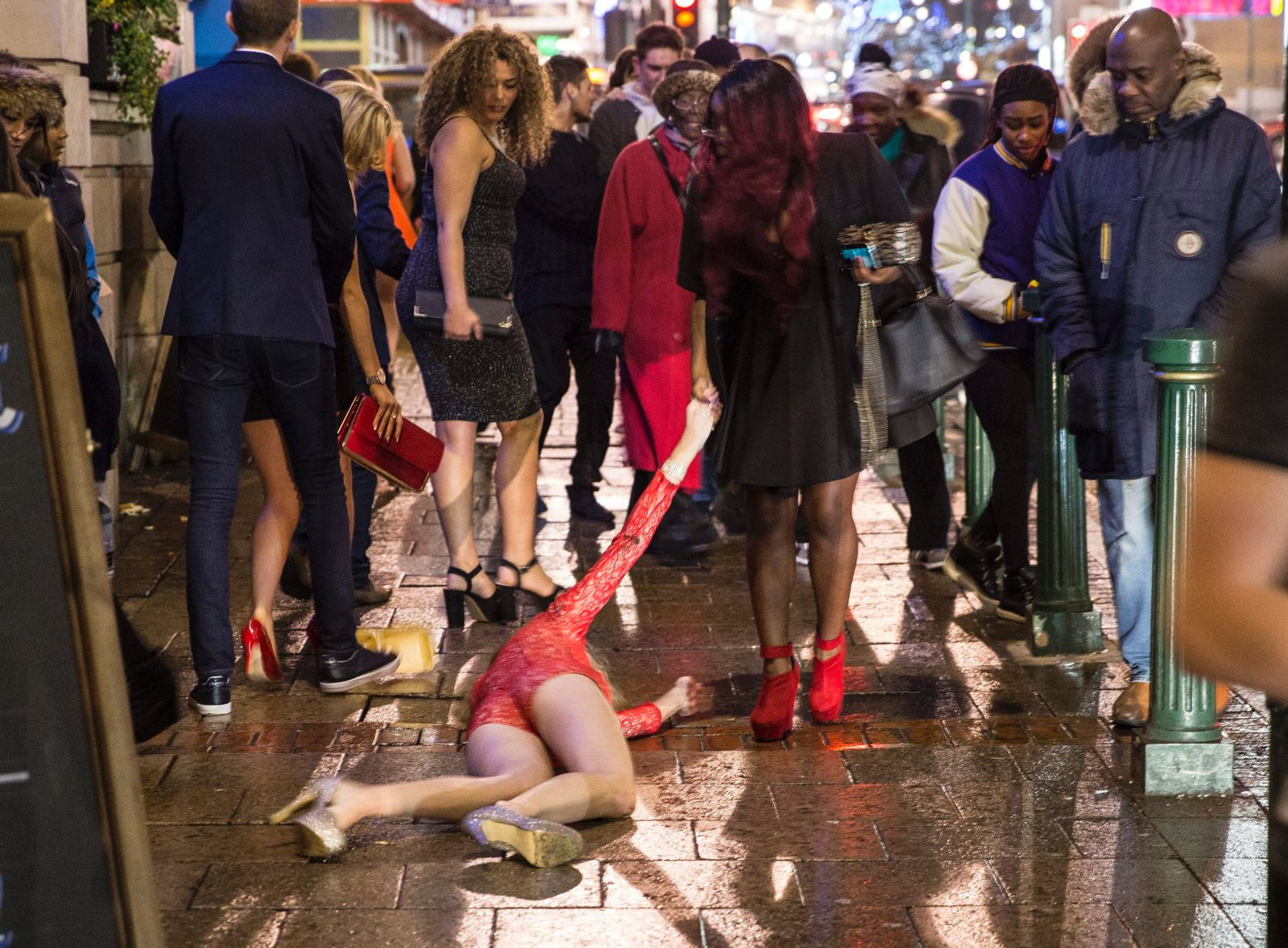 Shot of the Day: Was This the World's Drunkest New Year's Eve Scene?